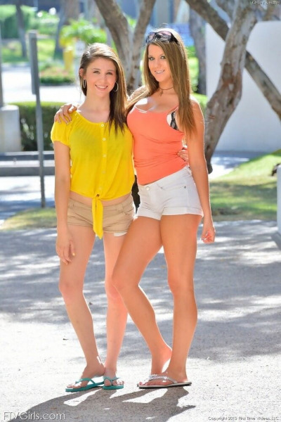 Kelsey and hazel casual to dressy - part 1209