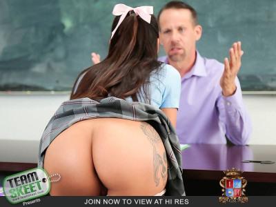 Schule Mädchen Gets Gefickt